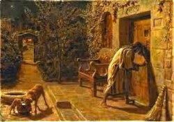 The Importunate Neighbor- William Hunt, 1895