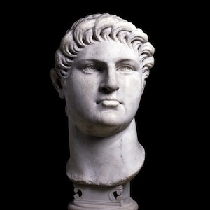 Marble Bust of Nero: British Museum