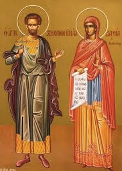 Chrysanthus and Daria—martyred c. 283-284