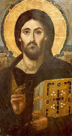 Icon of Christ As Pantocrator
