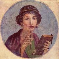 Woman in Pompeii