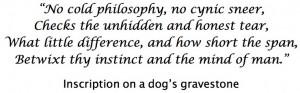 Dog's Gravestone