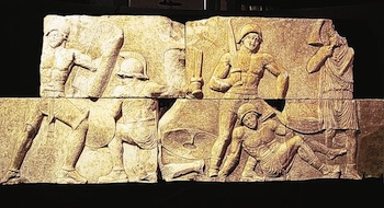 Stone images unearthed in Libya, 2000