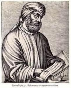 Tertullian Woodcut