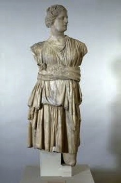 Statue of the Goddess Aphrodite