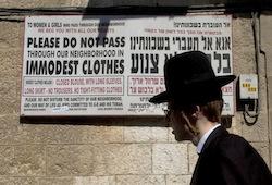 Israel Enforcing Modesty