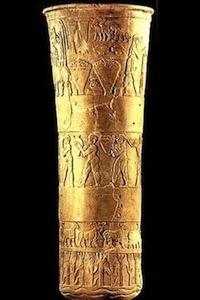 Sacred Vase Of Warka, c. 3200 BC
