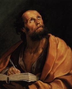 Saint Luke—Guido Reni, 1621