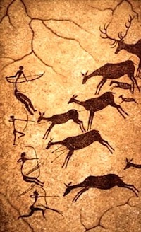 Cave painting—Lascaux, France