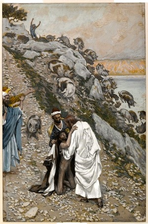 Swine Driven Into The Sea—Tissot