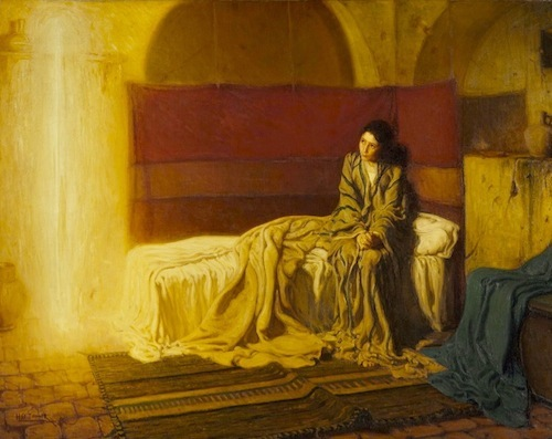 Annunciation—Henry Ossawa Tanne, 1898