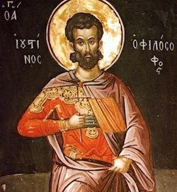Tatian (c. 120--c. 180), pupil of Justin Martyr