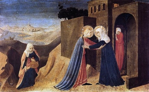 The Visitation—Fra Angelico, 1395-1455