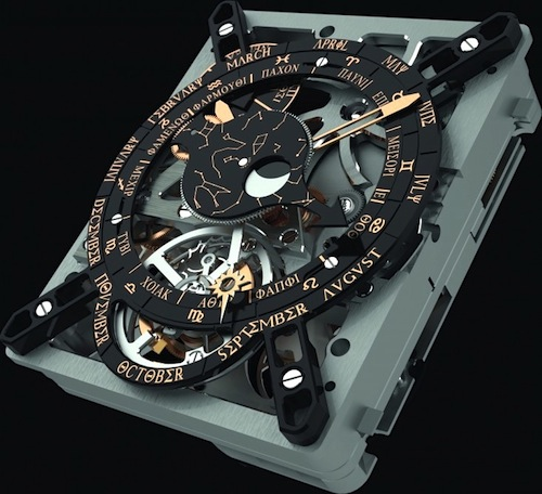 Hublot's miniature replica of the Antikythera mechanism