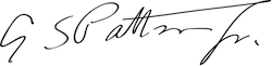 Patton signature