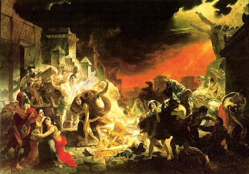 """The Last Days of Pompeii""—Karl Briullov, 1799 - 1852"