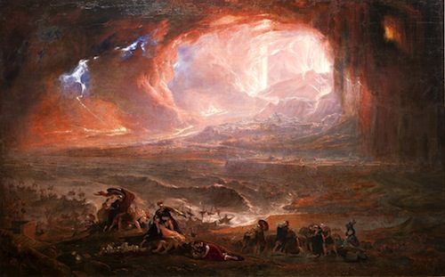 """The Destruction of Pompeii & Herculaneum"" — John Martin, 1789 - 1854"