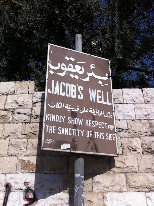 Jacob's Well Sign