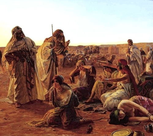 Selling Slaves—Otto Pliny (1866-1936)