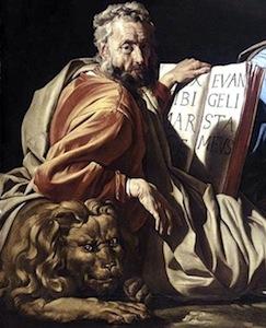 The Evangelist St. Mark—Matthias Stom, 1635