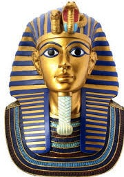 King Tutankhamen's gold mask