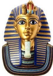 King Tutankhamen's gold mask