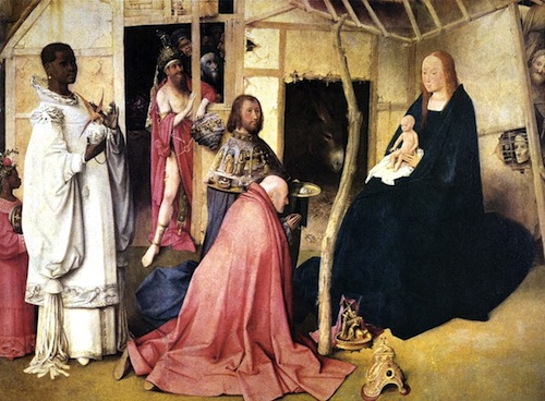 Adoration of Magi, Bosch