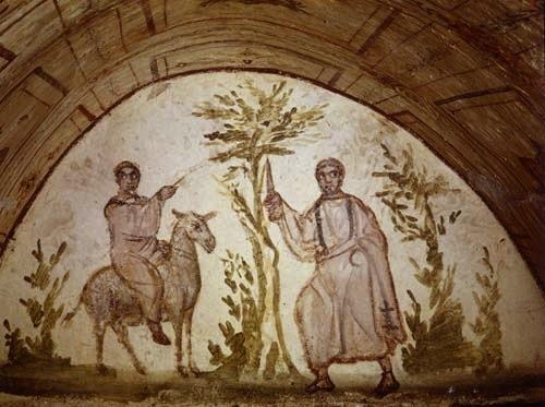 Balaam In Via Latina Catacomb