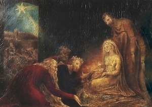 Adoration of the Magi, William Blake