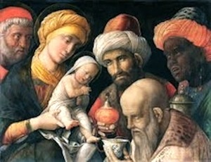 Adoration Of the Magi, Mantegna
