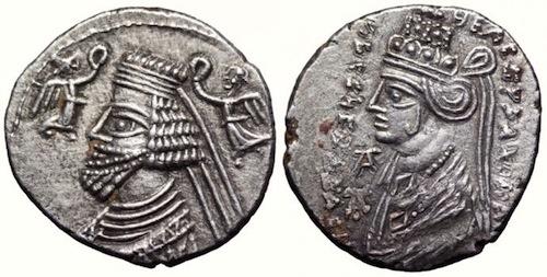 Phraates IV Coin