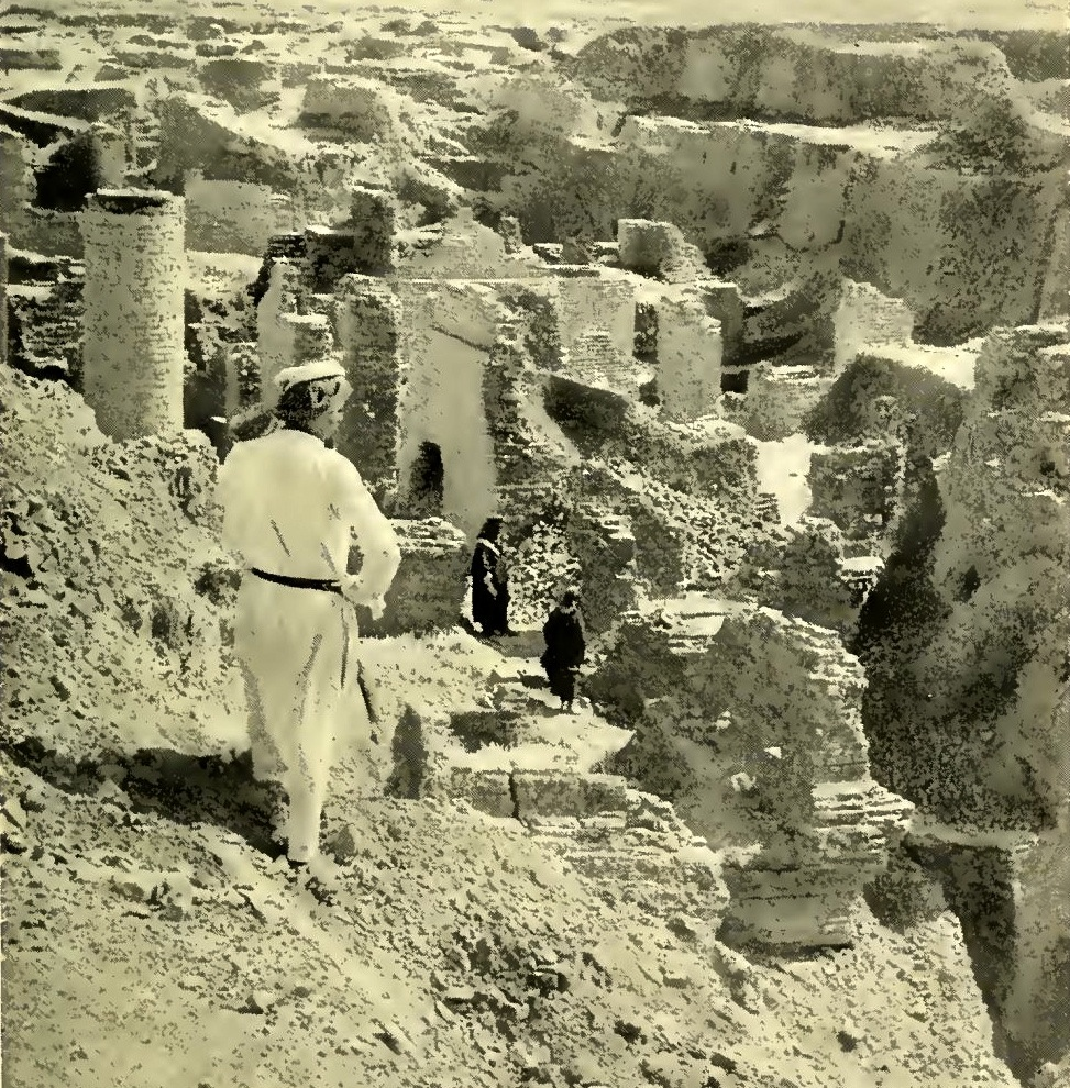 Ancient ruins of Babylon in modern day Iraq