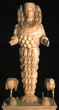 Marble Sculpture of Artemis/Diana