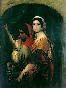 Herodias, Paul Delarouche (1797-1956)