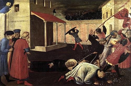 Martyrdom of St. Mark—Fra Angelico, 1433