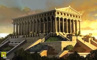 Artist's rendering of the Temple of Artemis