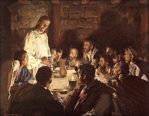 The Last Supper—by American Illustrator Harry Anderson (1906-1996)