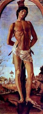 St. Sebastian—Botticelli, 1474