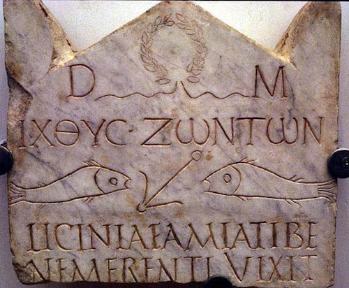 n inscription in the Catacomb of St. Callixtus memorializes a Christian soldier.