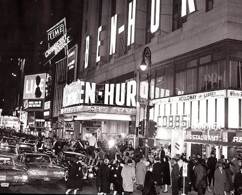 Loew's State Theater, 1959