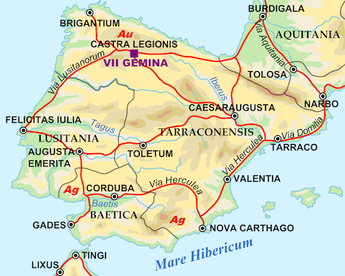Ancient Lusitania in Spain