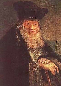 The Old Rabbi—Rembrandt