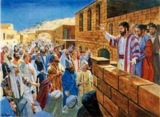 The Apostles Preached The Good News In The Temple—C. Winston Taylor