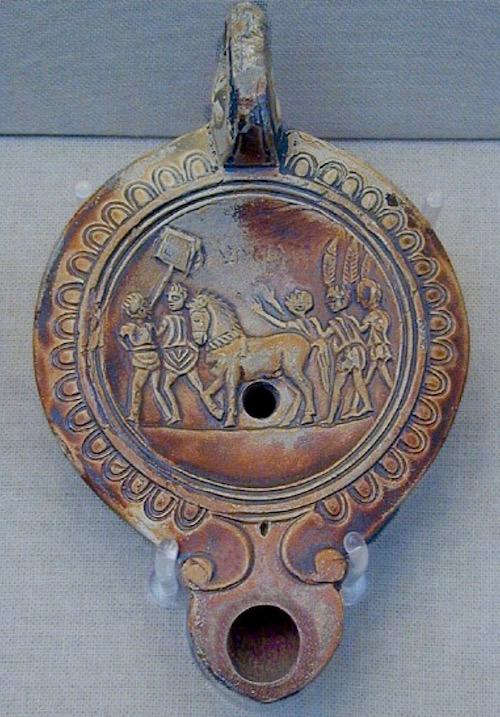 Roman Lamp 10