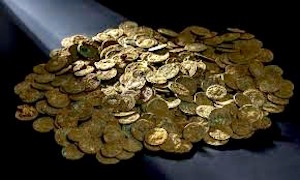4,000 Roman coins recently found in an orchard in Switzerland