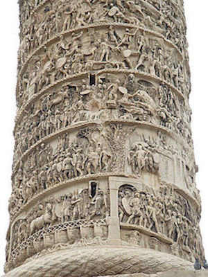 Detail On Trajan's Column