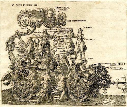 The Triumphal Chariot—Albrecht Durer (1471 - 1528)
