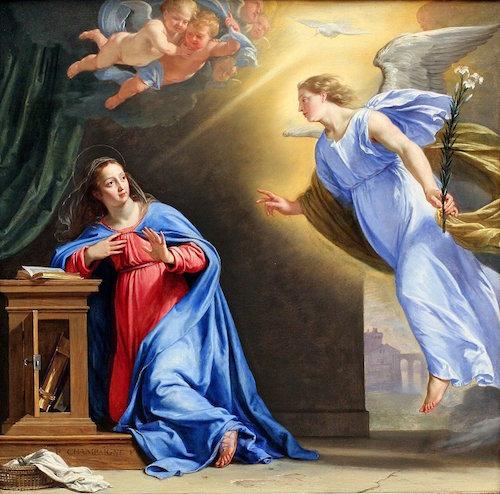 Annunciation—Philippe de Champaigne (1602-1674)