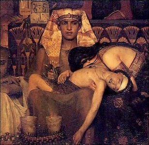 The Death of the Firstborn—Sir Lawrence Alma-Tadema (1836-1912)