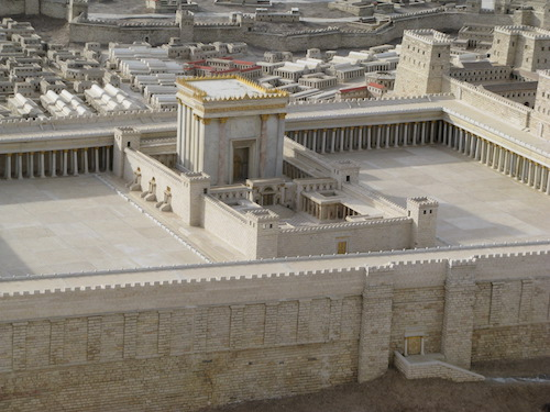 Jerusalem's Temple in c. 50 BC during the time of Diodorus